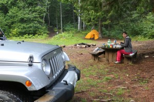 Camping am Lac du Sourd