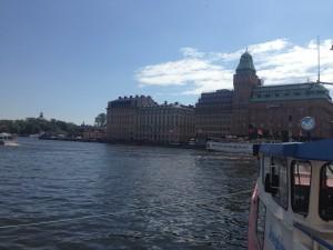 Schönstes Wetter in Stockholm