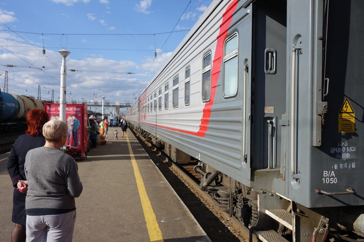 Unterwegs in der Transsibirischen Eisenbahn