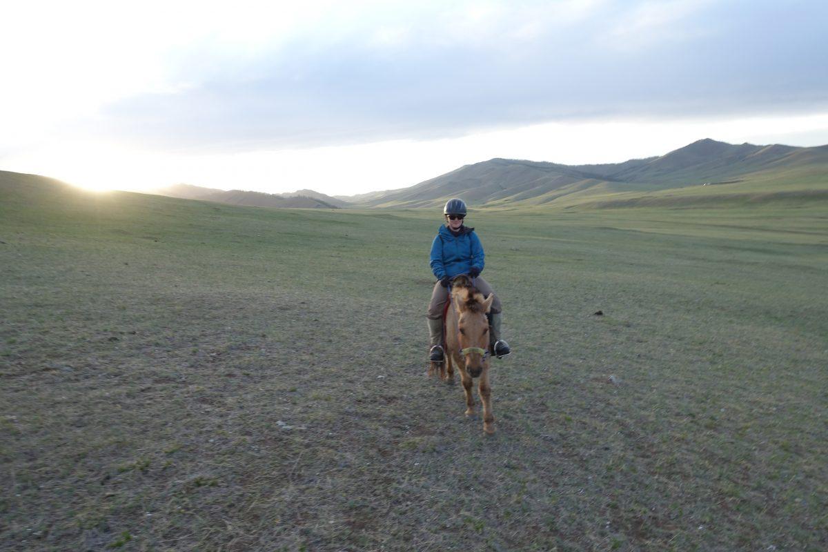 Tschu! 10 Tage auf dem Pferd