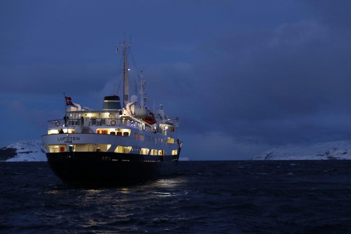 Unterwegs mit der Hurtigruten